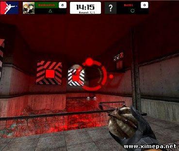скриншот java игры Half Life arena 3D
