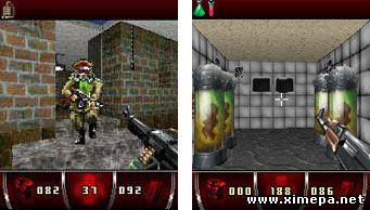 скриншоты java игры Био-Солдаты 3D