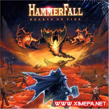 постер Hammerfall - Hearts On Fire