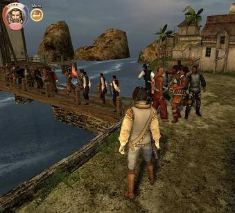 скриншот зрелище Корсары 0: Ветер Свободы