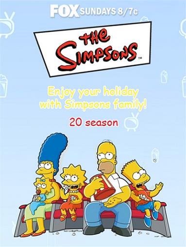 Скачать сериал бесплатно \ Симпсоны / The Simpsons (2008-09)