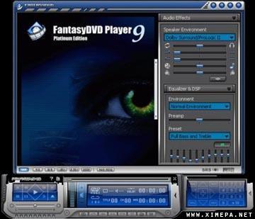 Скачать FantasyDVD Player Platinum 9.8.2.911 бесплатно