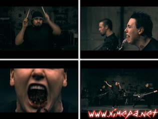 Смотерть клип PAPA ROACH - Angels Insects онлайн
