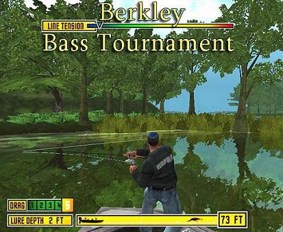 Скриншот - Berkley Bass Tournament v.1.12