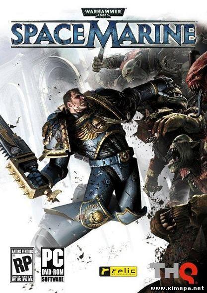 постер игры Warhammer 40,000: Space Marine