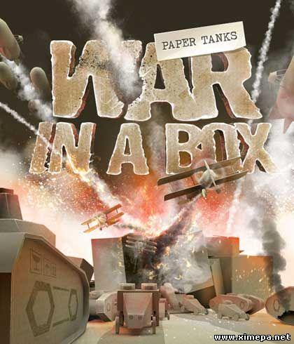 постер игры War in a Box: Paper Tanks
