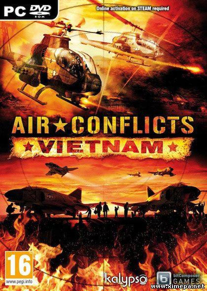 Скачать игру Air Conflicts: Vietnam торрент бесплатно