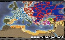 мини-карта Medieval 2 Total War: Road to Jerusalem