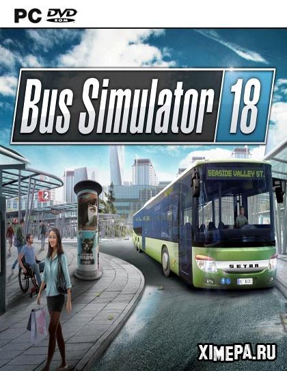 постер игры Bus Simulator 18
