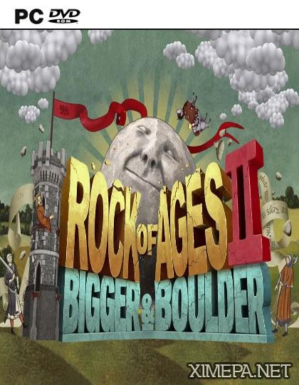 постер игры Rock of Ages 2: Bigger & Boulder