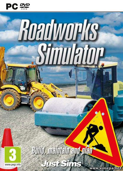 Скачать игру Road Works Simulator торрент