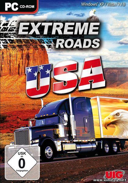 Скачать игру Extreme Roads USA торрент бесплатно