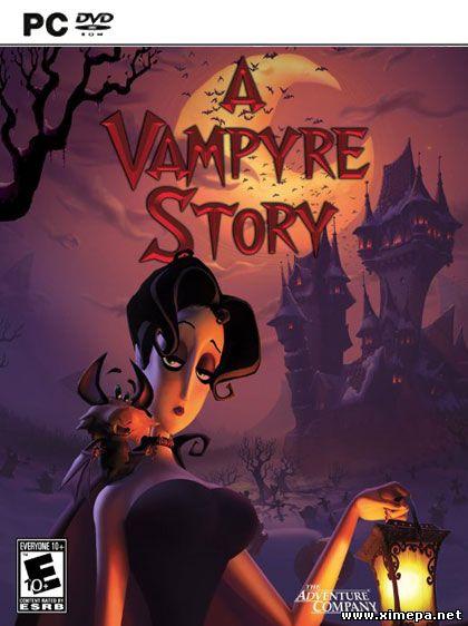 Скачать игру A Vampyre Story: Кровавый роман торрент