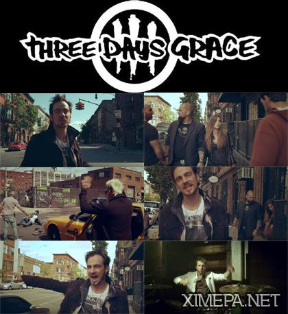 Смотреть клип Three Days Grace – Chalk Outline онлайн