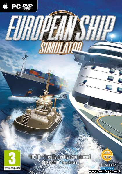 Скачать игру European Ship Simulator торрент