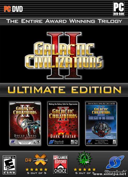 Скачать игру Galactic Civilizations 2: Ultimate Edition торрент