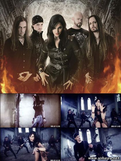 "Смотреть клип Xandria ""Nightfall"" (2014) онлайн"