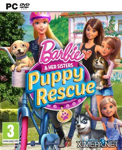 постер игры Barbie and Her Sisters Puppy Rescue