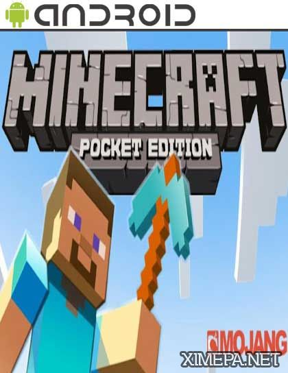 постер игры Minecraft - Pocket Edition
