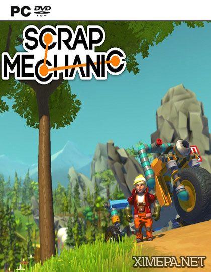 постер игры Scrap Mechanic