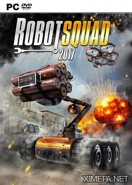 постер игры Robot Squad Simulator 2017