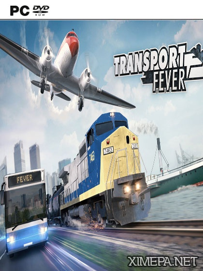 постер игры Transport Fever