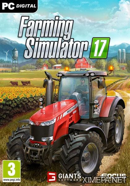 постер игры Farming Simulator 17