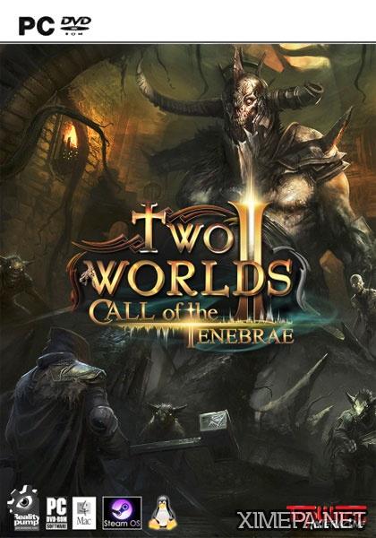 постер игры Two Worlds 2 - Call of the Tenebrae