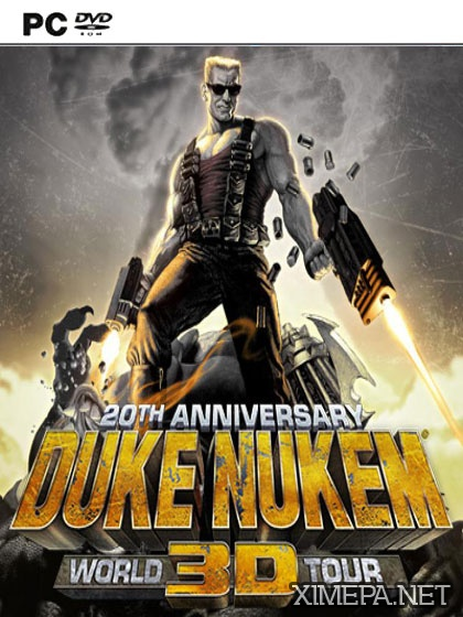 постер игры Duke Nukem 3D: 20th Anniversary World Tour