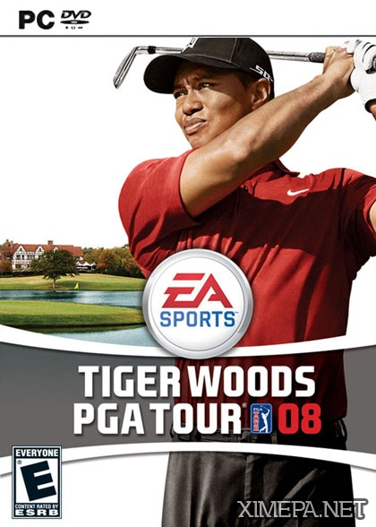 постер игры Tiger Woods PGA Tour 08