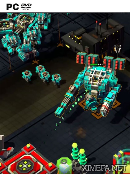 постер игры 8-Bit Invaders!