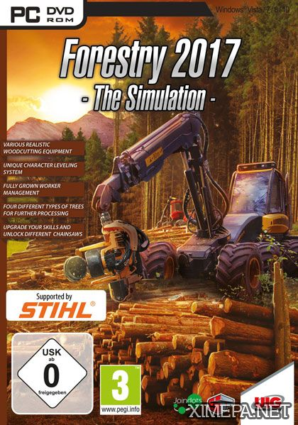 игра Forestry 2017 - The Simulation