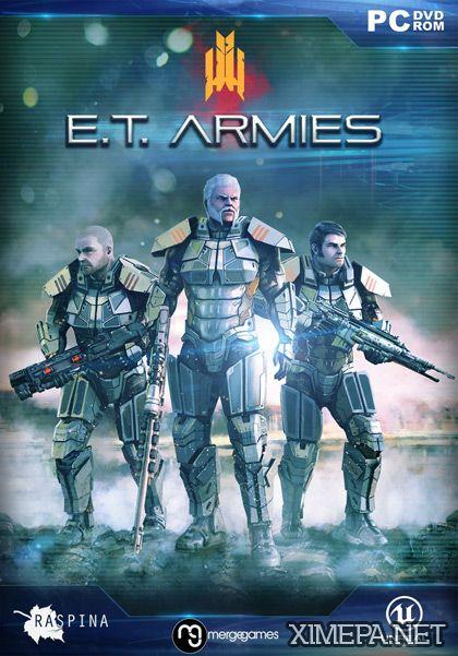 постер игры E.T. Armies