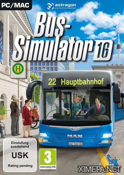 постер игры Bus Simulator 16