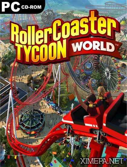 игра RollerCoaster Tycoon World