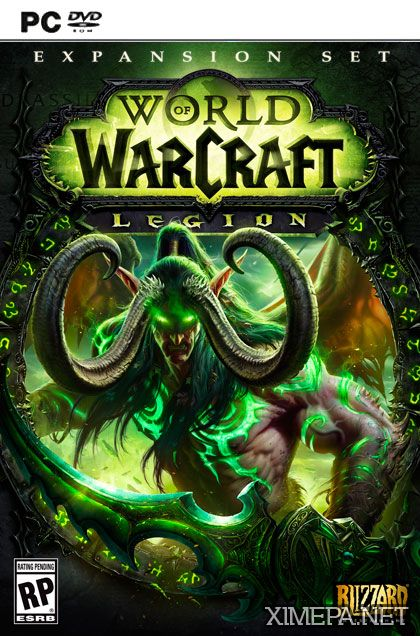 постер игры World of Warcraft Legion