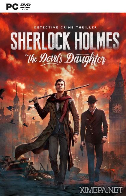постер игры Sherlock Holmes: The Devil's Daughter