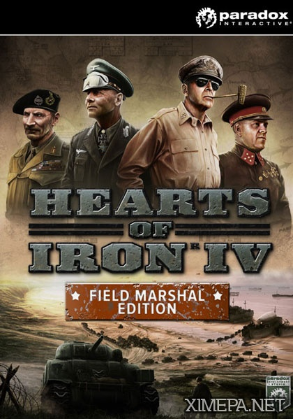 игра Hearts of Iron 4