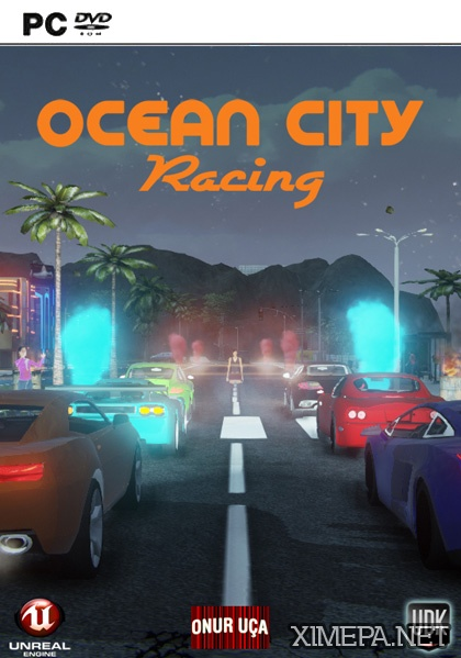 постер игры Ocean City racing: Redux
