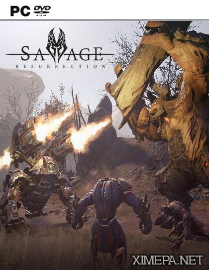 постер игры Savage Resurrection