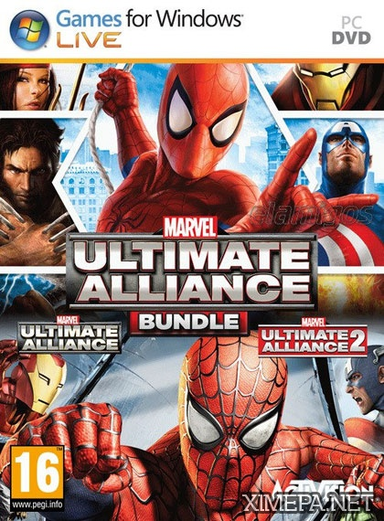 постер игры Marvel: Ultimate Alliance Bundle