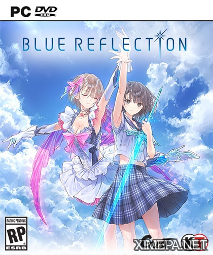 постер игры Blue Reflection