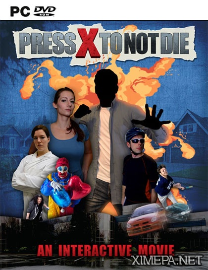 постер игры Press X to Not Die