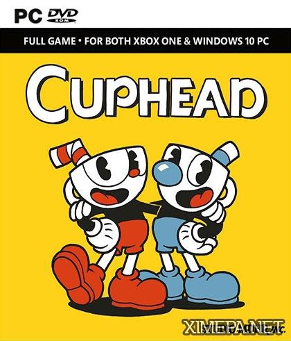 постер игры Cuphead