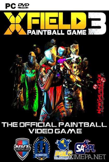 постер игры XField Paintball 3