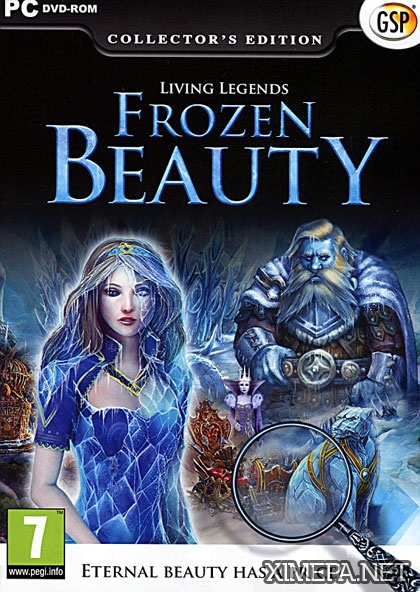 постер игры Живые Легенды: Ледяная Красавица