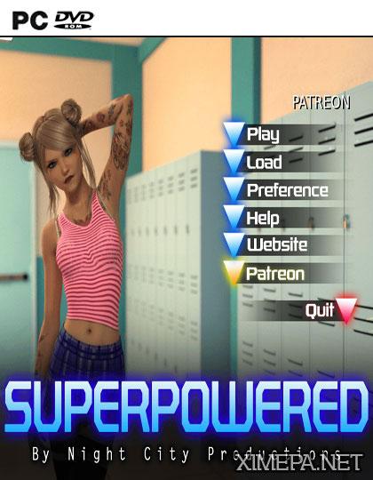 постер игры Super Powered