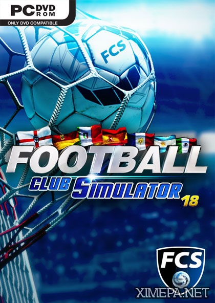 постер игры Football Club Simulator - FCS 18