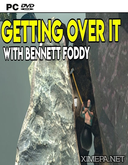 постер игры Getting Over It with Bennett Foddy