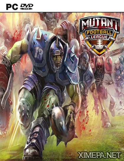 постер игры Mutant Football League